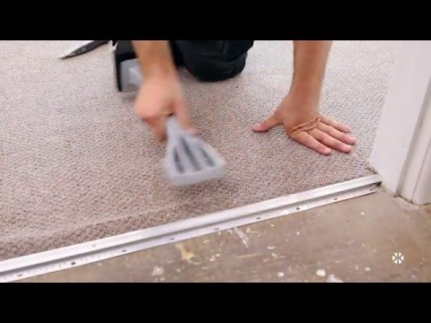 Kneekicker – Fitting Carpet without Underlay