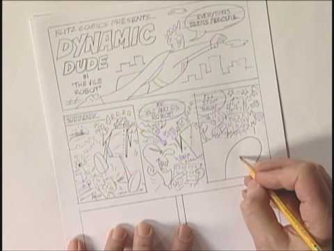 Make your Own Comic Book with Bruce Blitz