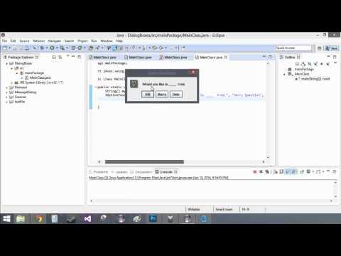 5.3.1 Pop-up Input (Java Code)