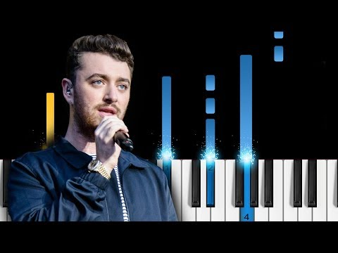 Sam Smith & Normani - Dancing With A Stranger - Piano Tutorial