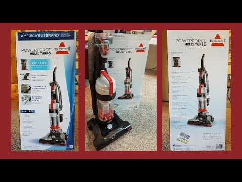 Bissell Powerforce Helix Turbo Vacuum Cleaner Detailed  Review