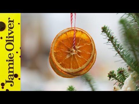 DIY Christmas Decorations with Jamie's Food Team
