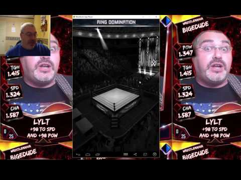 Tons of Inspirational Stuff While We Play The Games - WWE Supercard #255
