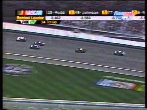 Jimmie Johnson's first cup win