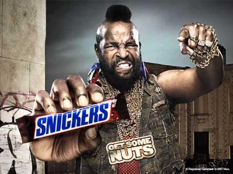 Mr T Snickers Radio Advert