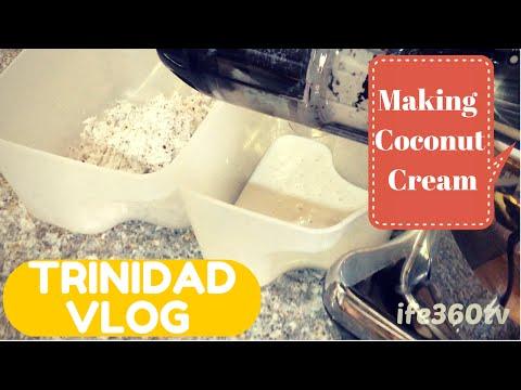 Vlog #9 - DIY Homemade Coconut Cream with Omega Juicer