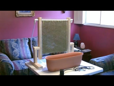 Homemade Evap. Air Cooler! - Awesome Air Cooler! - Easy DIY (quickview w/closeups)