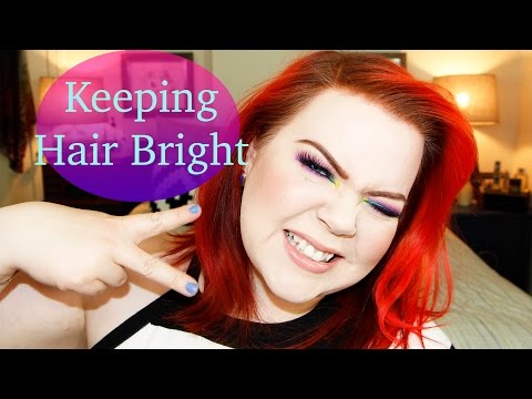 Keeping Hair Color Bright