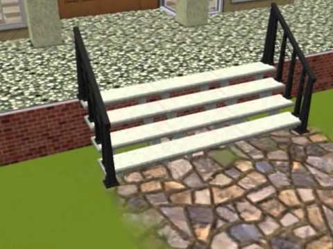 Balcony On A Sims 3 House