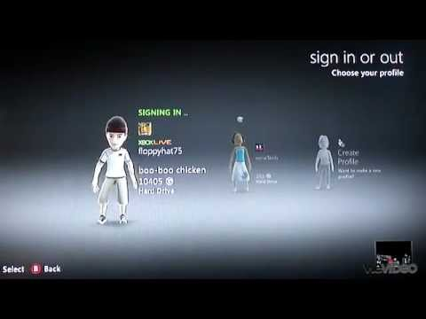 Tech Tip #11 Xbox - How to change default Xbox 360 live login