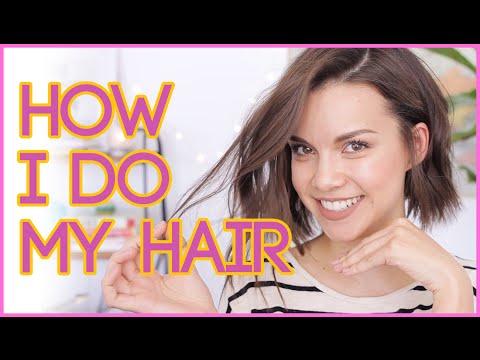 How I Style My Hair! // Textured Waves for Short Hair ◈ Ingrid Nilsen