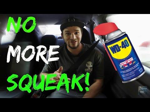 Fix Squeaky Seatbelt! Subaru WRX