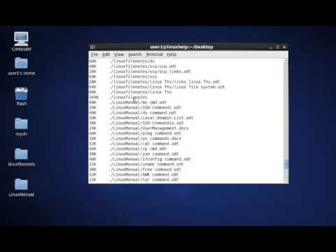 How to use du command?