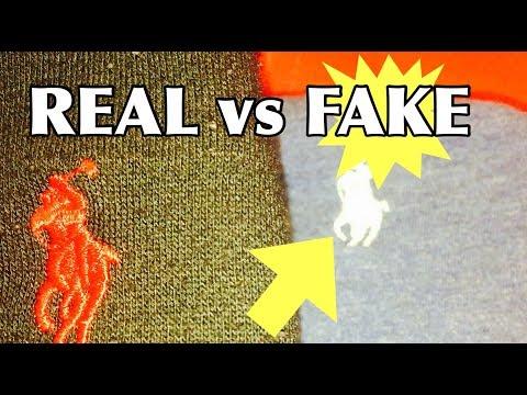 POLO RALPH LAUREN   REAL VS FAKE   HOW TO SPOT A FAKE POLO