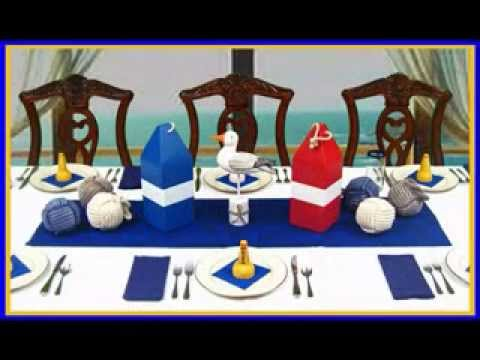 Nautical party decorating ideas
