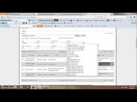 MSM Coupon database tutorial.mp4