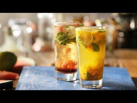 Mojito 2 ways - How to make a Mojito | Refreshing Summer Drink