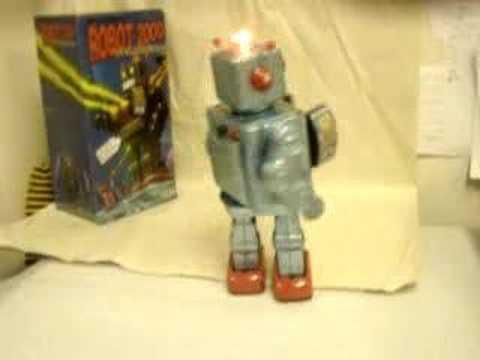 Millennium Tin Robot 2000 Battery Operated Space Toy