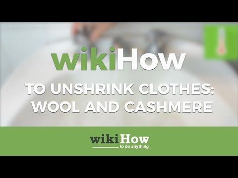 How to Unshrink Clothes: Wool and Cashmere