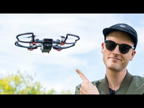 DJI Spark Test Footage and Video Camera Test