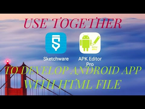 How to use Sketchware to create an android app with HTML file?