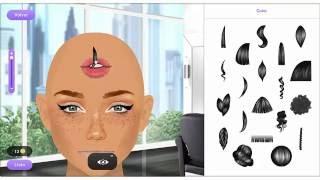 Stardoll - stardesing hair cheap desing lip