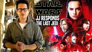 Download Star Wars! JJ Abrams Responds To The Last Jedi (Star Wars News) Video