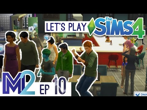 Let's Play The Sims 4 - Grand Opening! (Eden-Cho Season 3 Ep 10)