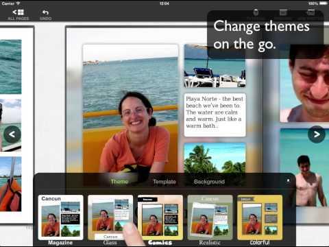 AlbumMaker - design beautiful Photobooks on your iPad