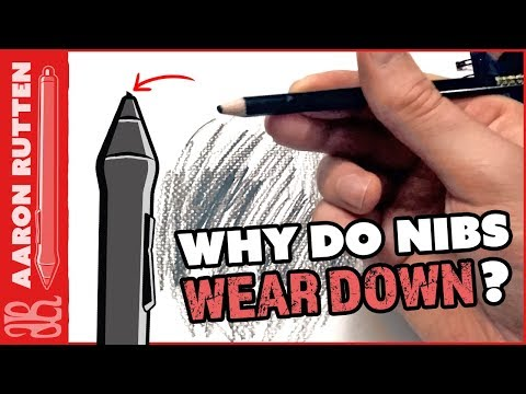 Why Do Wacom Tablet Nibs Wear Down?