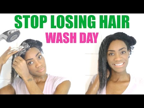 Wash Day - Stop Losing Your Hair | 4C - 4B Natural Hair