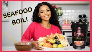 Seafood Boil Mukbang & Girl Talk