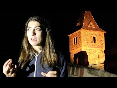 DO NOT Explore A Haunted Castle at 3AM! *SCARY*