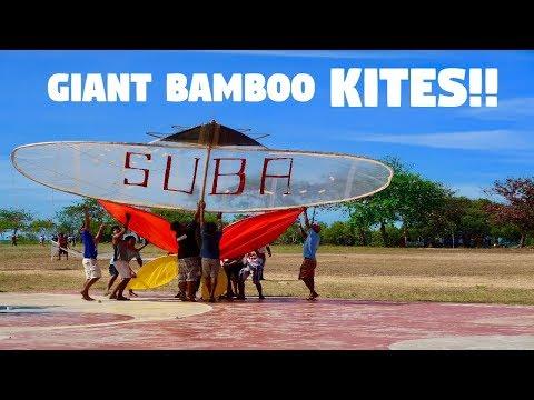AMAZING GIANT BAMBOO KITES IN THE PHILIPPINES! (Traditional Filipino Borador Festival)