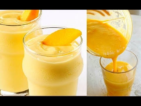 Mango Smoothie Recipe | Mango Lassi
