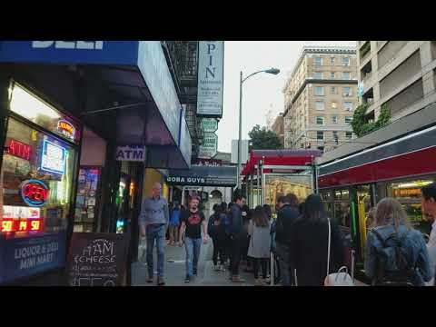 Walking from Union Square to Chinatown, San Francisco (FHD 1080p)