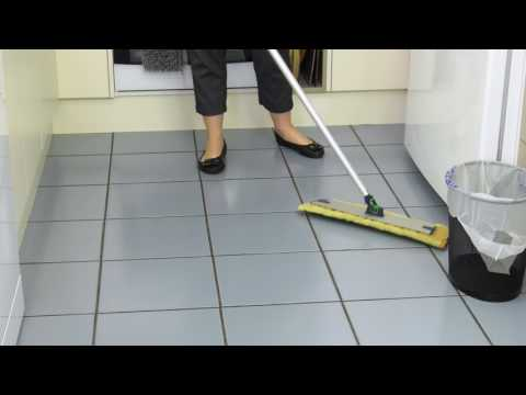 Mopping the fast, easy, safe way with Norwex - Cleaning Moments with Linda