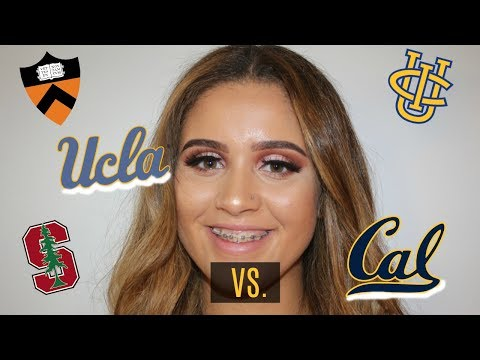 UCLA vs. BERKELEY: I GOT ACCEPTED INTO 9 COLLEGES!
