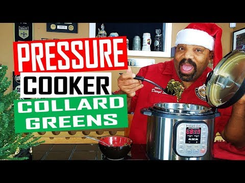 How To Cook Collard Greens In An Instant Pot Pressure Cooker