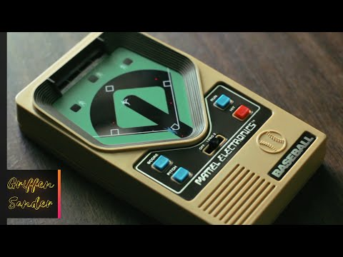 Mattel Electronics Baseball - The First Handheld Game Console, 2018 Review