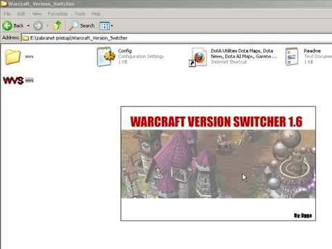 Warcraft Version Switcher with 1.26 patch