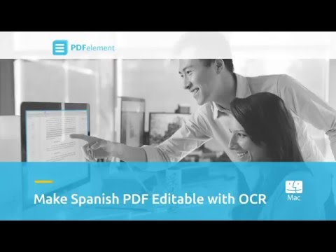 Make Non-English Scanned PDF Editable with OCR on Mac