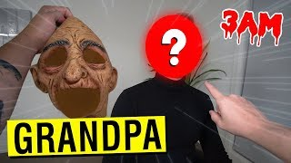 WE FINALLY UNMASKED GRANDPA FROM GRANNY CHAPTER 2 AT 3 AM!! (YOU WON'T BELIEVE WHO IT IS)