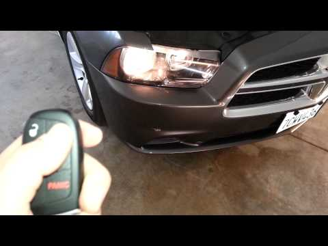 2014 Dodge Charger - Testing Smart Key Fob After Changing Battery - Keyless Enter-N-Go