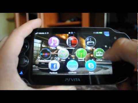 How to use the ps vita browser in game