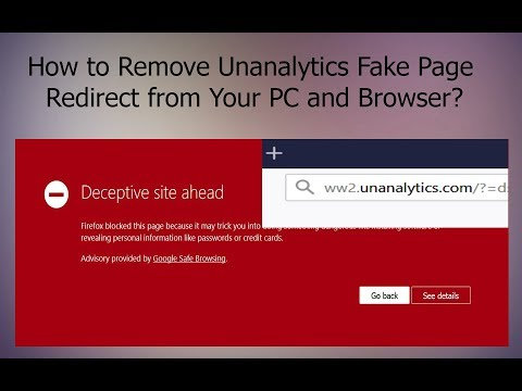 Unanalytics.com Redirect Scam (Virus Page) - How to Remove It Fully