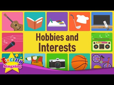 Kids vocabulary - Hobby and Interest- What do you like doing? - Learn English for kids