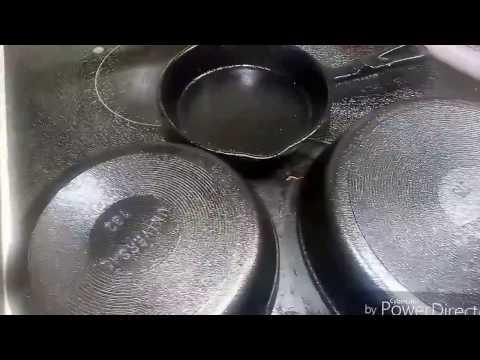Unboxing & Seasoning Cast Iron Pans