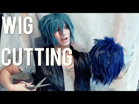 「Tutorial」Basic Male Anime Wig Cutting/Styling