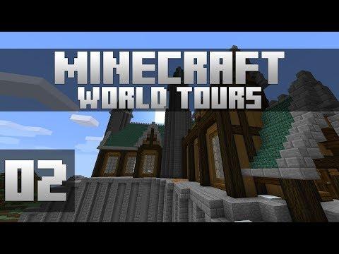 Minecraft World Tours - Ep. 2: WELSKNIGHT! (Minecraft 1.12)